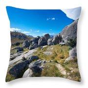 Castle Hill #4 Throw Pillow