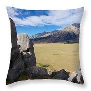Castle Hill #5 Throw Pillow