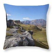 Castle Hill #6 Throw Pillow