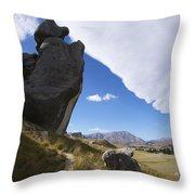 Castle Hill #7 Throw Pillow