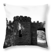 Castle II Throw Pillow