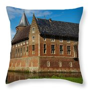 Castle In A Dutch Country Throw Pillow