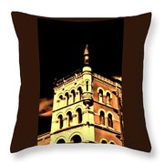 Louisville Kentucky Old Fort Nelson Building Throw Pillow