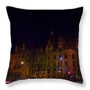 St. Louis City Hall Throw Pillow