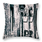Castle Lamps Throw Pillow