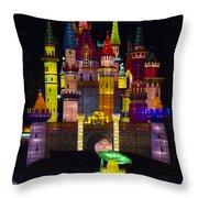 Castle Lantern Throw Pillow