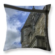 Castle Menzies From The Window Throw Pillow