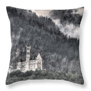 Castle Neuschwanstein  Throw Pillow