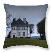 Castle Ploen Gatekeeper's House Throw Pillow