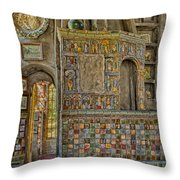 Castle Salon Throw Pillow