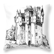 Castle Throw Pillow