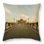 Castle Sant'angelo Throw Pillow