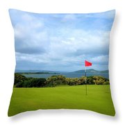 Castle Stuart Golf Links Throw Pillow
