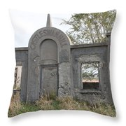 Castle Swan Hill Throw Pillow