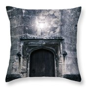 Castle Tower Throw Pillow by Joana Kruse
