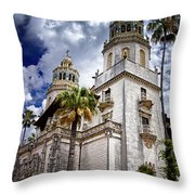 Castle Towers Throw Pillow