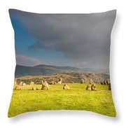 Castlerigg Stone Circle Throw Pillow