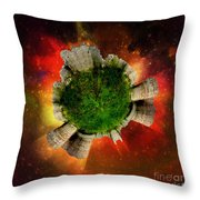 Castles In The Air Throw Pillow