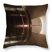 Castor 30 Rocket Motor Throw Pillow