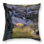 Castor River Shut-ins Throw Pillow