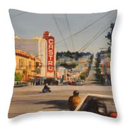 Castro Throw Pillow