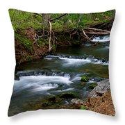 Casual Cascade Throw Pillow