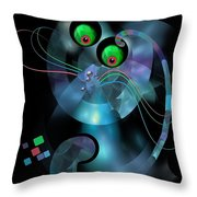 Cat 007-13 Marucii Throw Pillow