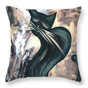 Cat 527-11-13 Marucii Throw Pillow