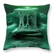 Catacombs 2 Throw Pillow