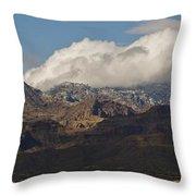 Catalina Mountains Tucson Arizona Throw Pillow