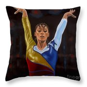 Catalina Ponor Throw Pillow