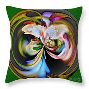 Catalpa Orb Throw Pillow