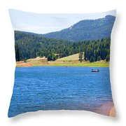 Catamount Fishermen Throw Pillow