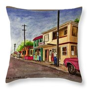 Catano Puerto Rico Street Throw Pillow