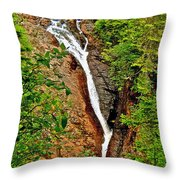 Cataract On North Harbour-nl Throw Pillow