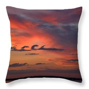 Catch The Cloud Wave Throw Pillow