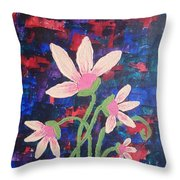 Catch The Colors Throw Pillow