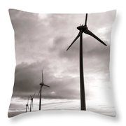 Catch The Wind Throw Pillow