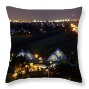 Catch Your Eye Throw Pillow