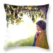 Catching The Spirit Throw Pillow