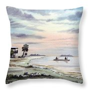 Catching The Sunrise - Hagens Cove Throw Pillow