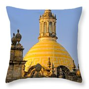 Catedral De Guadalajara Throw Pillow