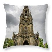 Catedral Del Buen Pastor Throw Pillow