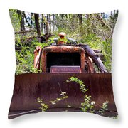 Caterpillar Rough Throw Pillow