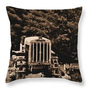 Caterpillar Throw Pillow