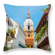 Cathedral And Balconies Throw Pillow
