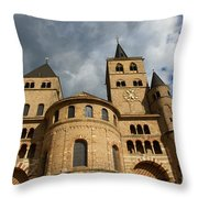 Cathedral And Church Of Our Lady  Throw Pillow