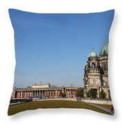 Cathedral And Humboldt Box Throw Pillow