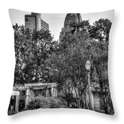 Cathedral And Rsa Throw Pillow
