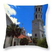 Cathedral Basilica Throw Pillow